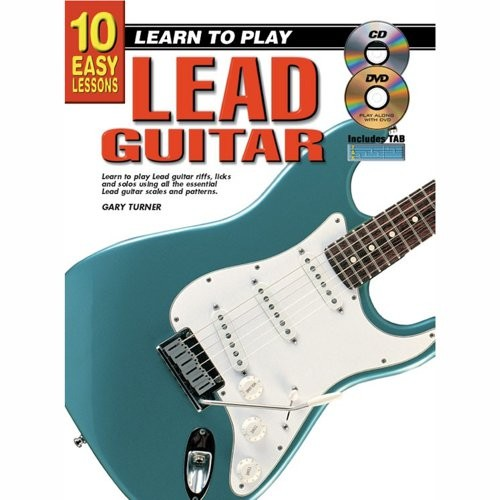 TURNER, GARY - TEACH YOURSELF LEAD GUITAR (GITAAR) + CD/DVD - bladmuziek