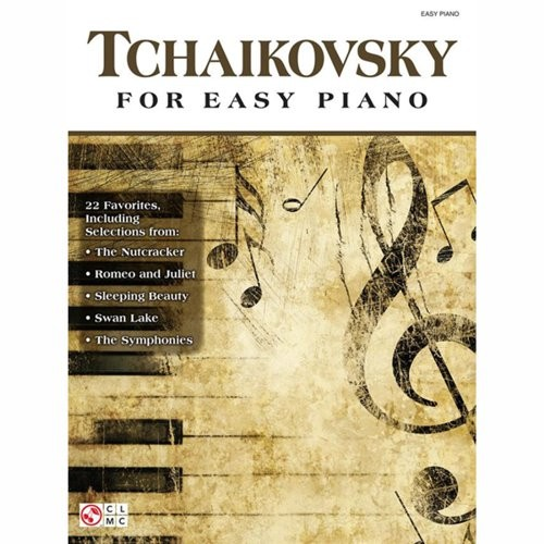 BLADMUZIEK - TCHAIKOVSKY FOR EASY PIANO