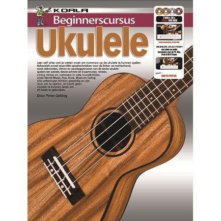 GELLING, PETER - BEGINNERSCURSUS UKULELE + CD DVD - bladmuziek