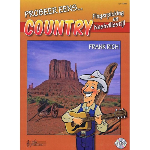RICH, FRANK - PROBEER EENS COUNTRY FINGERPICKING - bladmuziek