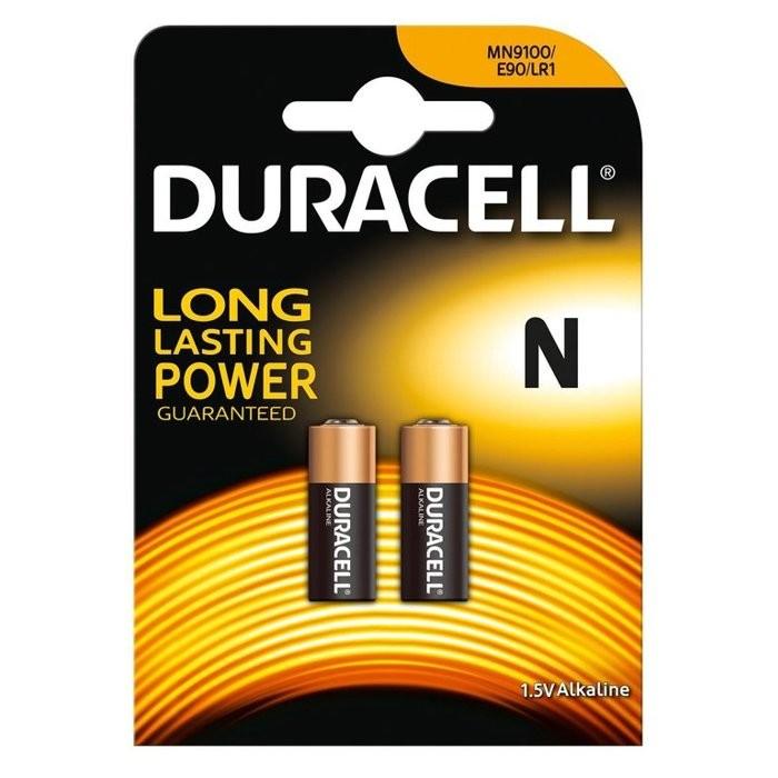 DURACELL LR1 2-PACK - BATTERIJ LADYCEL MN9100 1.5V
