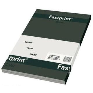 FASTPRINT 120558 - PAPIER A4 ZWART 160 GRAM 50 VEL
