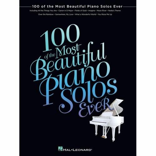 BLADMUZIEK - 100 OF THE MOST BEAUTIFUL PIANO SOL - bladmuziek