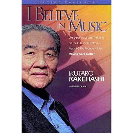 KAKEHASHI, IKUTARO & ROBERT OLSEN - I BELIEVE IN MUSIC - boek