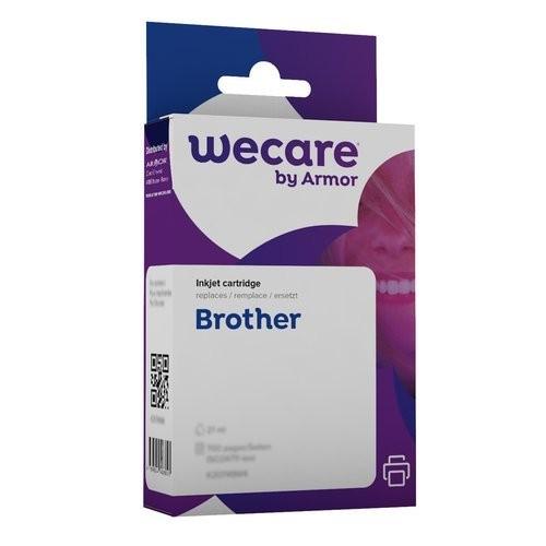 WECARE LC-3219XL YELLOW - INKTCARTRIDGE BROTHER GEEL 68ML