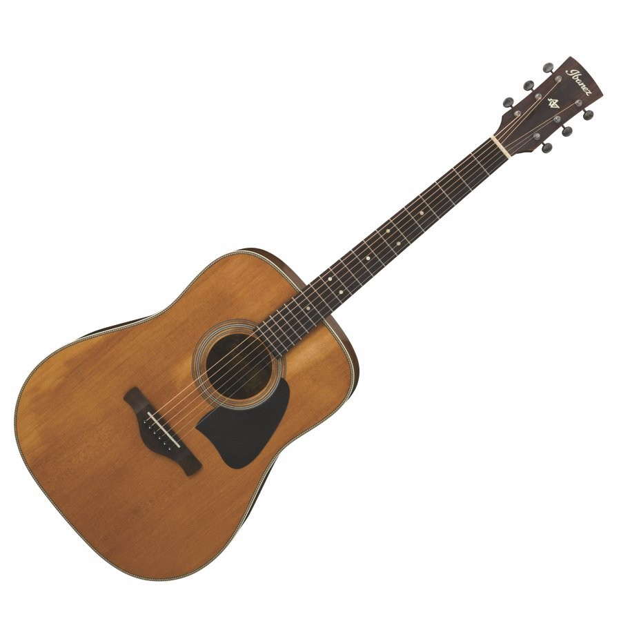 IBANEZ AVD11-ANS THERMO AGED SOLID CAUCASIAN SPRUCE TOP - GITAAR WESTERN DREADNOUGHT BODY