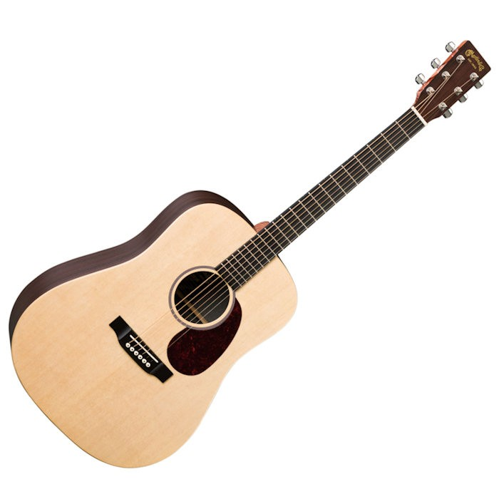 MARTIN DX1RAE SOLID SITKA SPRUCE TOP - GITAAR WESTERN DREADNOUGHT + EQ