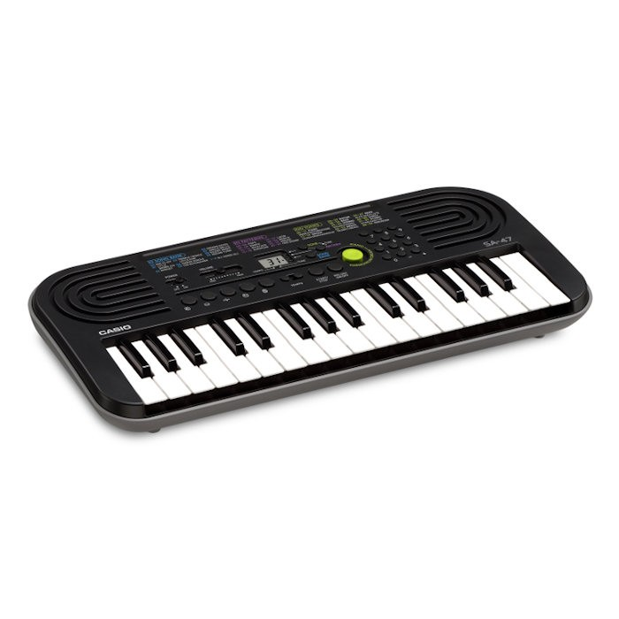 CASIO SA-47 - KEYBOARD 32 MINI TOETSEN GRIJS