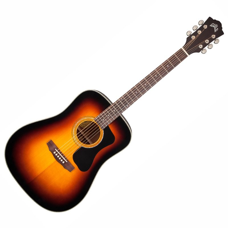 GUILD D-140 SB WESTERLY SUNBURST - GITAAR WESTERN DREADNOUGHT