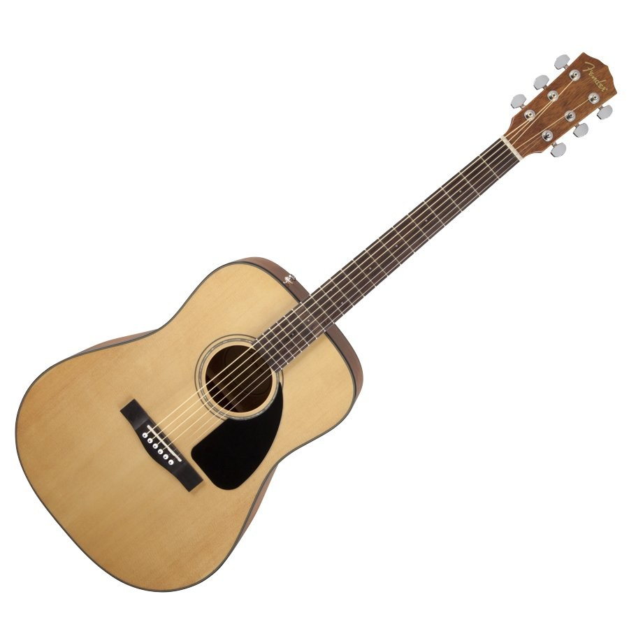 FENDER CD-60 V3 NAT WN - GITAAR WESTERN DREADNOUGHT NATURAL