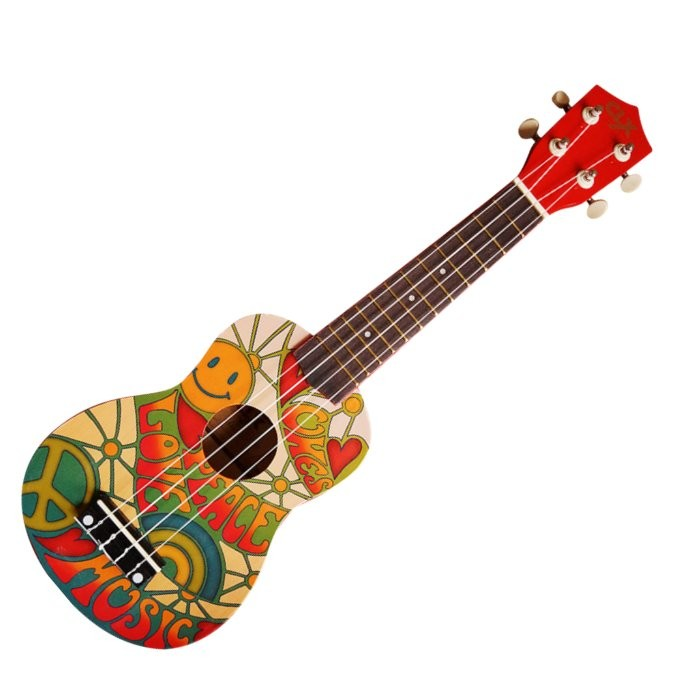 CLX CALISTA 21 PC - UKELELE SOPRAAN PEACE