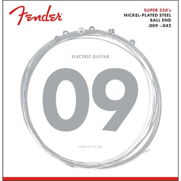 FENDER 250L - SNAREN ELEKTRISCH 009-042 NICKEL