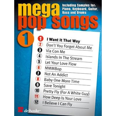 SONGBOOK - MEGA POP SONGS 1