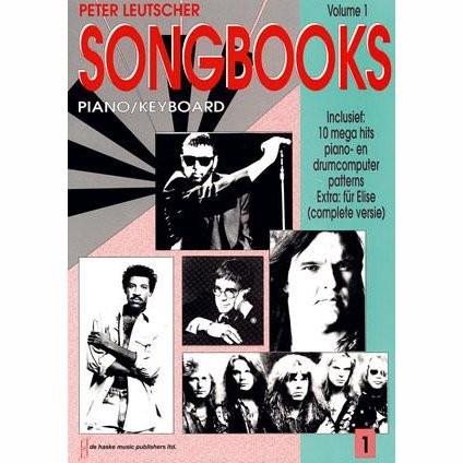 LEUTSCHER, PETER - SONGBOOKS 1 PIANO/KEYBOARD - bladmuziek