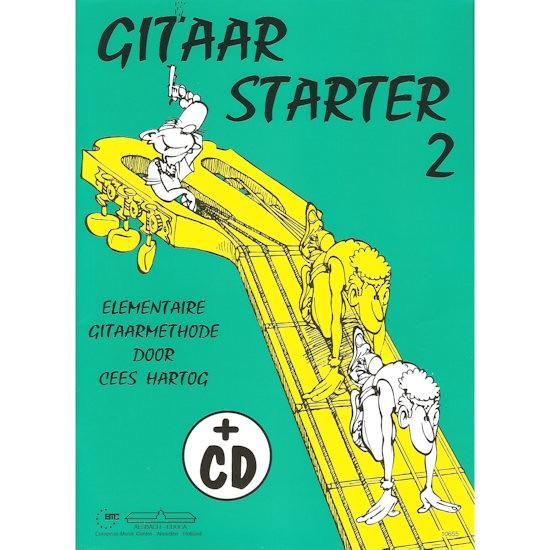 HARTOG, CEES - GITAAR STARTER 2 - BOEK