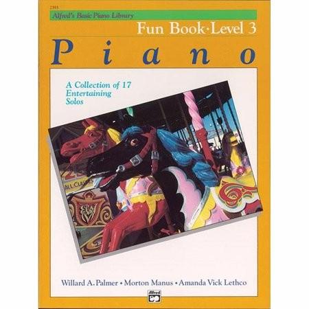 ALFRED'S BASIC PIANO LIBRARY - FUN BOOK 3 - bladmuziek