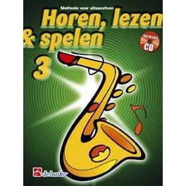 HOREN, LEZEN & SPELEN - ALTSAX METHODE DEEL 3 + CD