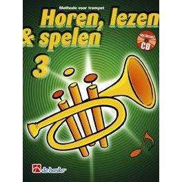 HOREN, LEZEN & SPELEN - TROMPET METHODE DEEL 3 + CD