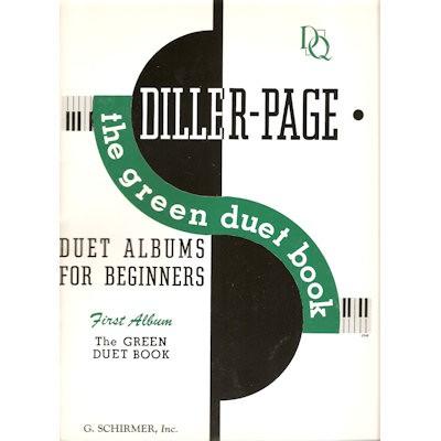 DILLER PAGE - GREEN DUET BOOK - 4 HANDEN