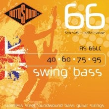 ROTOSOUND RS 66LC MEDIUM - SNAREN BAS 040-095 LONG SCALE