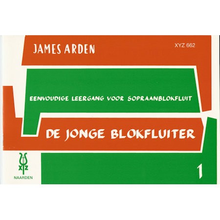 ARDEN, JAMES - JONGE BLOKFLUITER 1