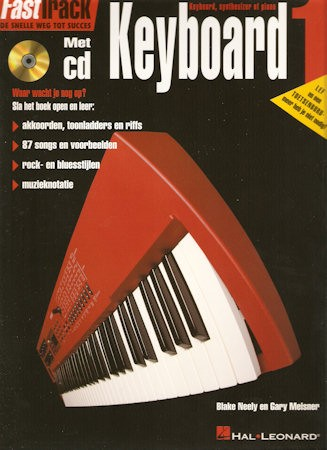 BLADMUZIEK + CD - FASTTRACK KEYBOARD 1