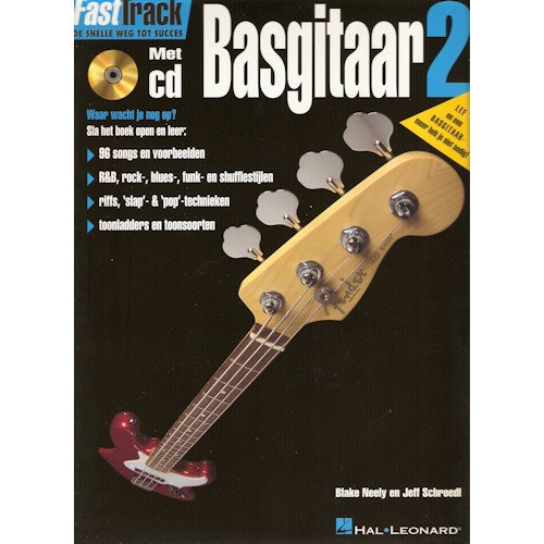 BLADMUZIEK METHODE + CD - FASTTRACK BASGITAAR DEEL 2
