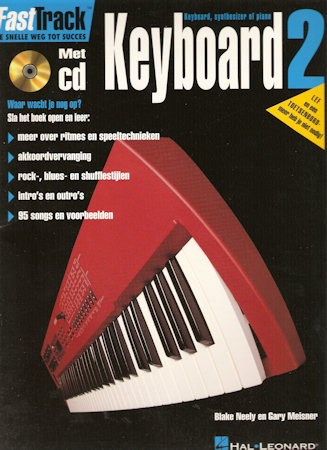 BLADMUZIEK METHODE + CD - FASTTRACK KEYBOARD DEEL 2