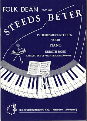 DEAN, FOLK - STEEDS BETER 1 PIANO