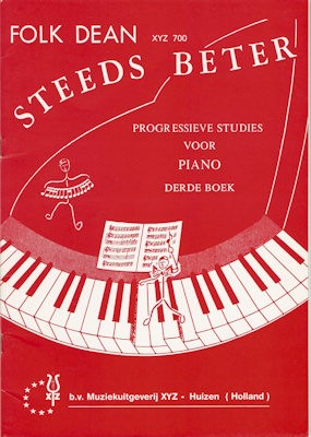 DEAN, FOLK - STEEDS BETER 3 PIANO