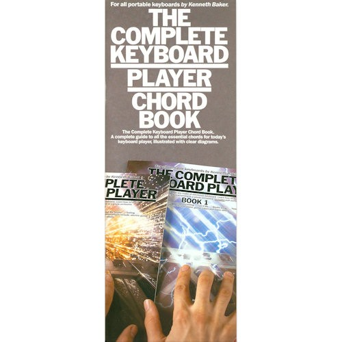 BAKER, KENNETH - KEYBOARD PLAYER CHORD BOOK COMPLETE