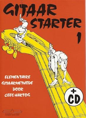 HARTOG, CEES - GITAAR STARTER 1 + CD