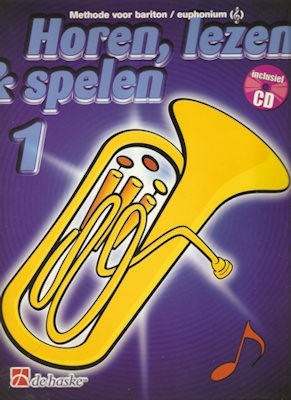 HOREN, LEZEN & SPELEN - BARITON (EUPHONIUM) METHODE 1 + CD