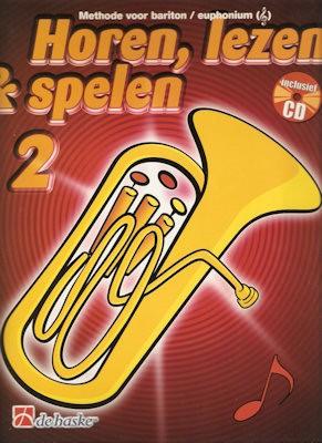 HOREN, LEZEN & SPELEN - BARITON (EUPHONIUM) METHODE 2 + CD