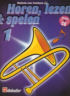 HOREN, LEZEN & SPELEN - TROMBONE TC METHODE DEEL 1 + CD