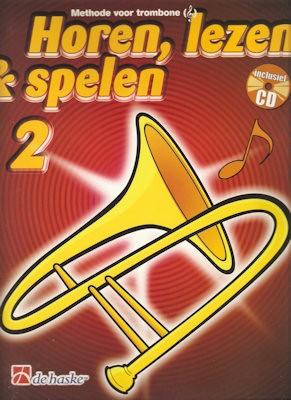 HOREN, LEZEN & SPELEN - TROMBONE TC METHODE DEEL 2 + CD