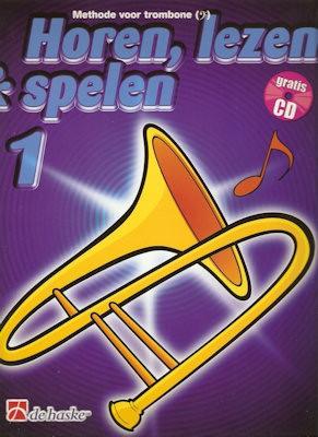 HOREN, LEZEN & SPELEN - TROMBONE BC METHODE DEEL 1 + CD