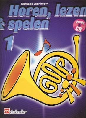 HOREN, LEZEN & SPELEN - HOORN(F) METHODE DEEL 1 + CD