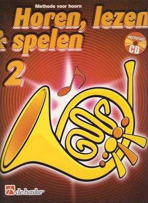 HOREN, LEZEN & SPELEN - HOORN(F) METHODE DEEL 2 + CD