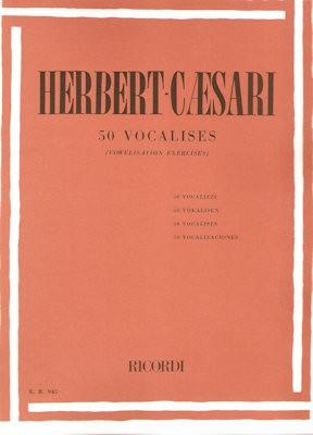 CAESARI, HERBERT - 50 VOCALISES