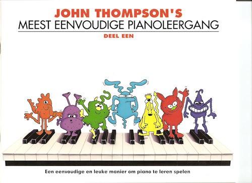 THOMPSON, JOHN 1 - MEEST EENVOUDIGE PIANOLEERGANG 1