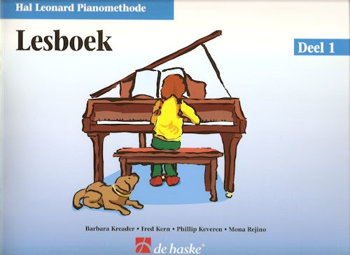 HAL LEONARD PIANOMETHODE - LESBOEK 1
