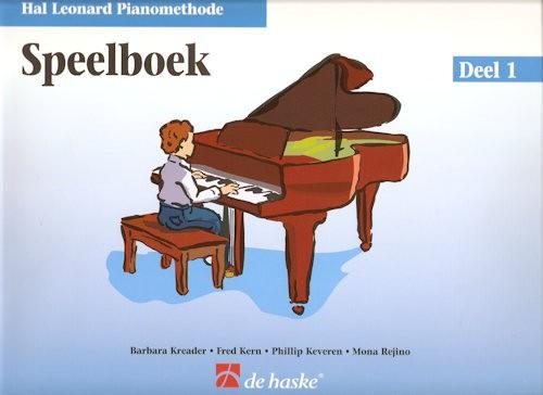 HAL LEONARD PIANOMETHODE - SPEELBOEK 1