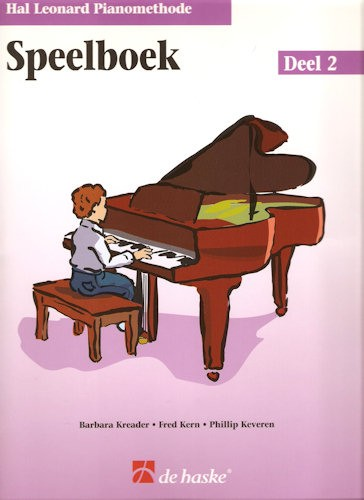 HAL LEONARD PIANOMETHODE - SPEELBOEK 2