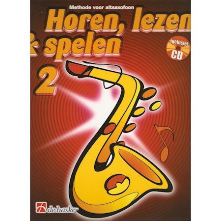 HOREN, LEZEN & SPELEN - ALTSAX METHODE DEEL 2 + CD