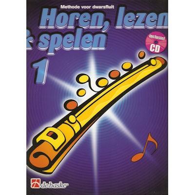 HOREN, LEZEN & SPELEN - DWARSFLUIT METHODE DEEL 1 + CD
