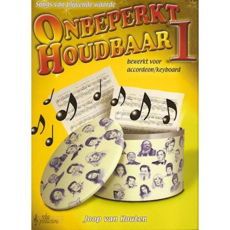 HOUTEN, JOOP VAN - ONBEPERKT HOUDBAAR 1 ACCORDEON & KEYBOARD