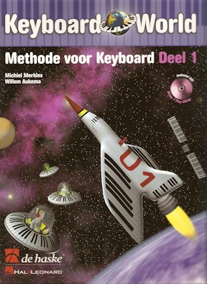 MERKIES, MICHIEL + CD - KEYBOARD WORLD 1