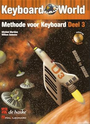MERKIES, MICHIEL + CD - KEYBOARD WORLD 3