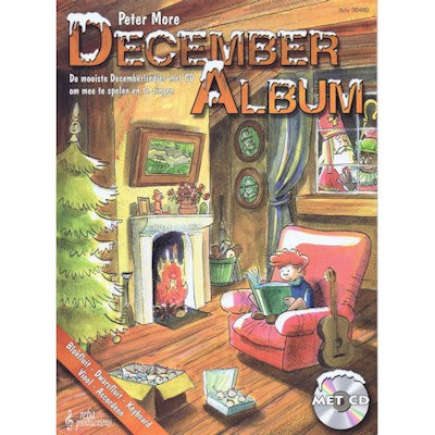 MORE, PETER - DECEMBER ALBUM + CD